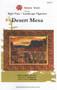 Desert Mesa Applique Quilt Front Cover