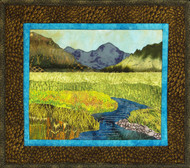 Yellowstone Valley Applique Quilt