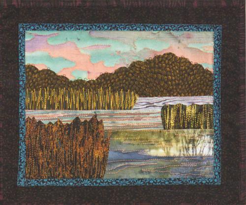 Serene Marsh Bella Vista Applique Quilt