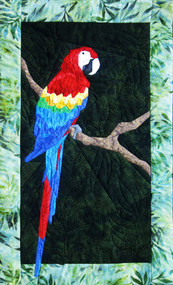 Parrot Picture Paper Piecing Quilt