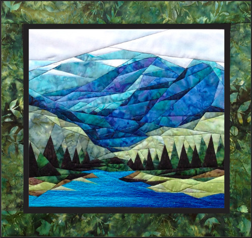 Smokey Mountains Picture Piecing Quilt