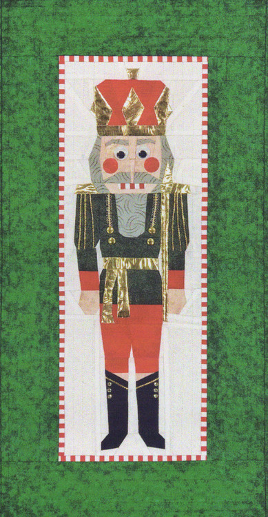 Ludwig The Nutcracker Foundation Paper Piecing Quilt
