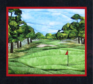 Golf Anyone? Paper Piecing Quilt