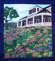 Wildflower Hill Picture Piecing Quilt
