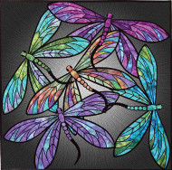 Dance of the Dragonflies Applique Quilt