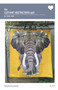 The Elephant Abstractions Quilt Foundation Paper Piecing Pattern Front Cover