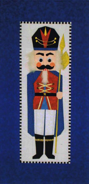 Leopold The Nutcracker Foundation Paper Piecing Quilt