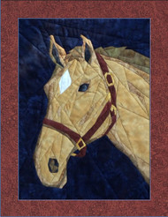 Horsing Around Picture Piecing Pattern Quilt