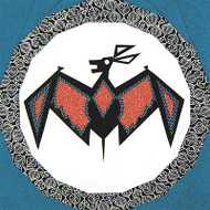 Mimbres Bat Foundation Paper Piecing Quilt Block