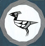 Mimbres Road Runner Foundation Paper Piecing Quilt Block