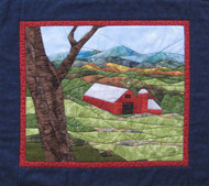 Red Barn Picture Piecing Quilt Pattern