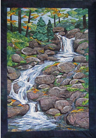Waterfall Picture Piecing Quilt Block