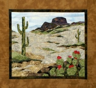 Southwest Splendor Picture piecing Quilt Block