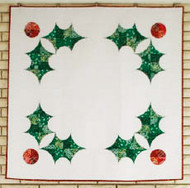 The Holly Holiday Foundation Paper Piecing Quilt