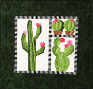 Cacti Foundation Paper Pieced Quilt