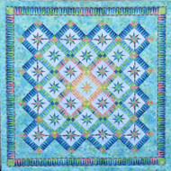 Summer Breeze Foundation Paper Pieced Quilt