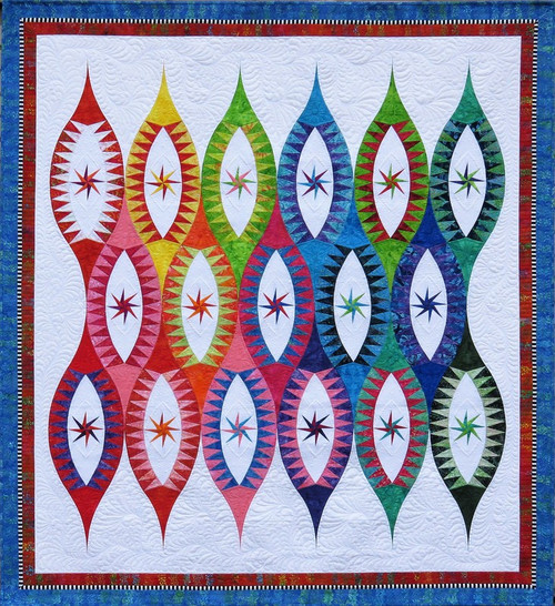 Arabian Nights Foundation Paper Pieced Quilt