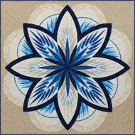Sea Holly Foundation Paper Pieced Quilt