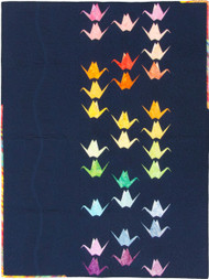 Paper Cranes Foundation Paper Pieced Quilt