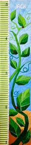 Beanstalk - Children's Growth Chart - Foundation Paper Pieced Quilt