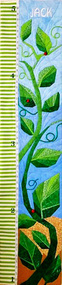 Beanstalk - Children's Growth Chart - Foundation Paper Pieced Quilt