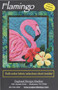 Flamingo Picture Piecing Quilt Front Cover