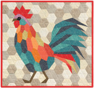 The Rooster English Paper Piecing Quilt