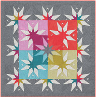 The Country Star Barn Foundation Paper Piecing Quilt