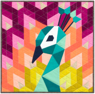 The Peacock English Paper Piecing Quilt