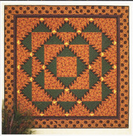 Thimbleberries Boo Mountain Strip Pieced Quilt