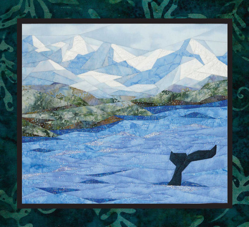 Whale Watching - NEW Foundation Paper Piecing Technique by Cynthia England  Quilt