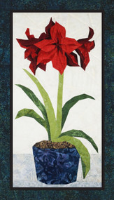 Amaryllis - NEW Form of Foundation Paper Piecing (Picture Piecing) Pattern Quilt