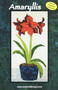 Amaryllis - NEW Form of Foundation Paper Piecing (Picture Piecing) Pattern Quilt Front Cover