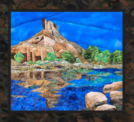 Canyon Getaway - NEW Foundation Paper Piecing Method - (Picture Piecing) - Quilt