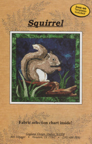 Squirrel - NEW Foundation Paper Piecing Method - (Picture Piecing) - Front Cover