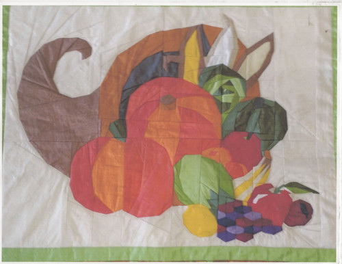 Fruits of Our Labour – Foundation Paper Piecing Quilt