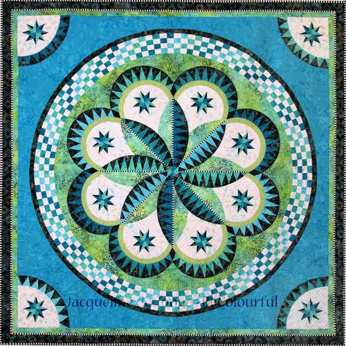 Spring Fever - Foundation Paper Piecing Quilt