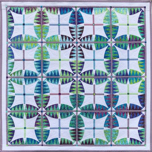 Lavender Fields - Foundation Paper Piecing Pattern – Quilt