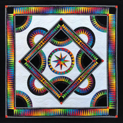 Allegra - Foundation Paper Piecing Pattern – Quilt