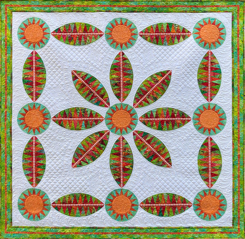 Flora Bella - Foundation Paper Piecing Pattern – Quilt