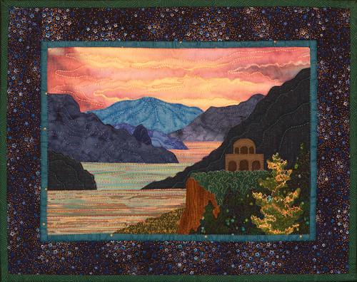 Crown Point - Bella Vista Landscape Vignettes by Helene Knott - Applique Quilt