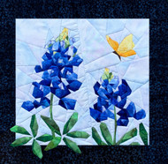 Bluebonnets NEW Picture Piecing Quilt