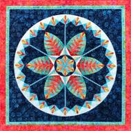 Botanica Foundation Paper Piecing Pattern Quilt