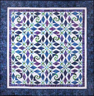 Eye of the Storm Foundation Paper Piecing Pattern Quilt