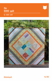 The BOHO Foundation Paper Piecing Quilt Front Cover