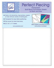 Perfect Piecing Foundation Sheets 25 PKG
