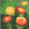 Marigold Flower Block