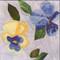 Pansy Flower Block
