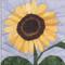 Sunflower Flower Block
