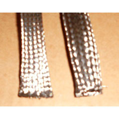 "3/16"" Stainless Steel Expandable Braided Sleeving (Tubular)"